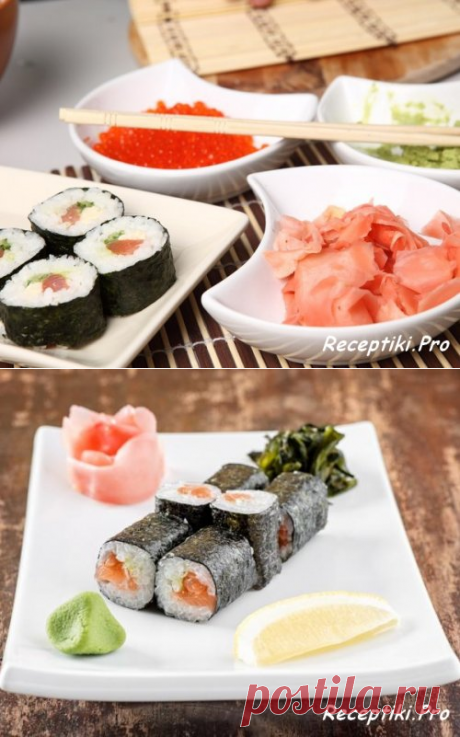 Роллы в домашних условиях - приготовь как в суши-баре - быстро, вкусно и просто