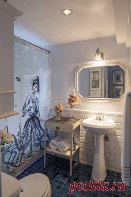 Замена шторке в ванной комнате — Наши дома