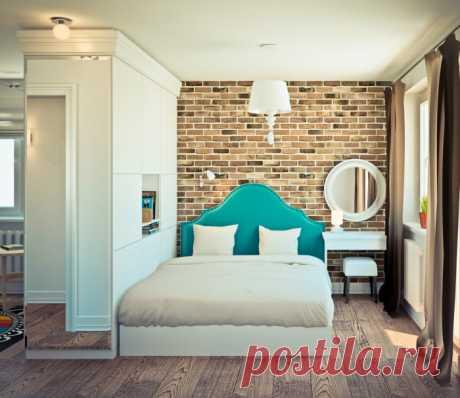 15 эффектных идей для интерьера однокомнатной квартиры, чтобы сделать её удобной и стильной