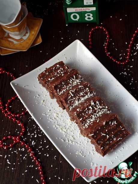 """Пирожное """"Шоколадница"""" – кулинарный рецепт"""