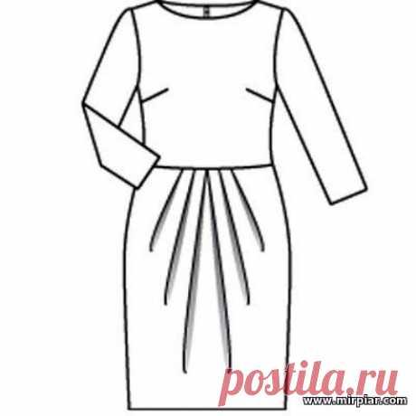 (+2) Платье-футляр (шитье, выкройки)