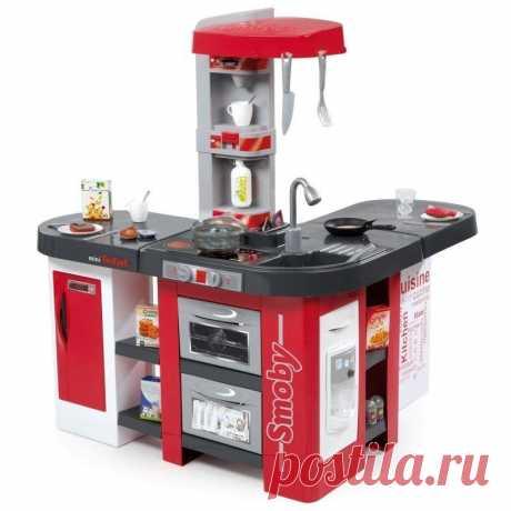 """Кухня """"Tefal Studio XXL"""" купить онлайн на WellMax.eu Детские электронные кухни - это первая собственная кухня вашего ребенка. Кухня в миниатюре представляет собой набор из качественного пластика с электронными функциями. Набор занимает немного места, поэтому вы сможете удобно разместить его в детской."""