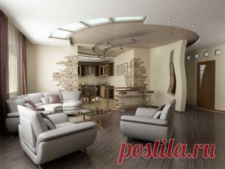 Дизайн гостиной - ТОП 200 фото лучших интерьеров для гостиной