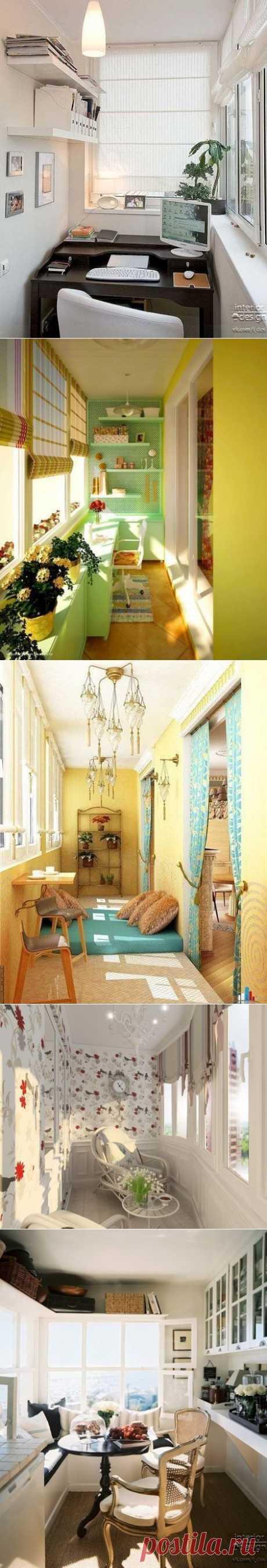 Уютный балкон и лоджия
