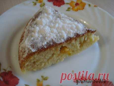 Вкусный и простой мандариновый пирог