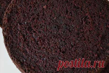 Шифоновый бисквит шоколадный рецепт с фото пошагово и видео - 1000.menu