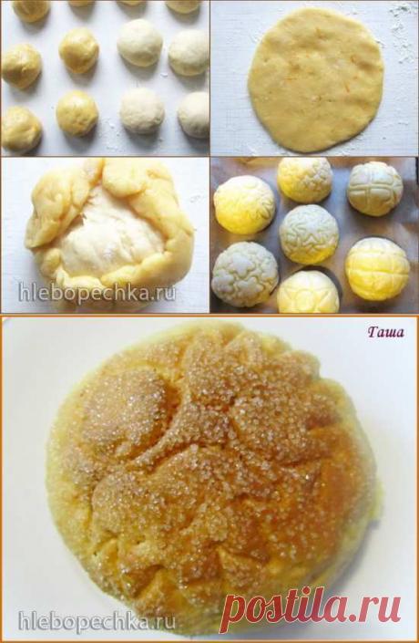 Булочки японские дынные Melon Pan | Четыре вкуса