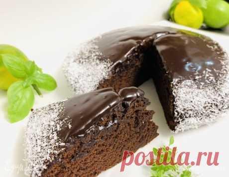 Шоколадный постный пирог, пошаговый рецепт, фото, ингредиенты - MERI