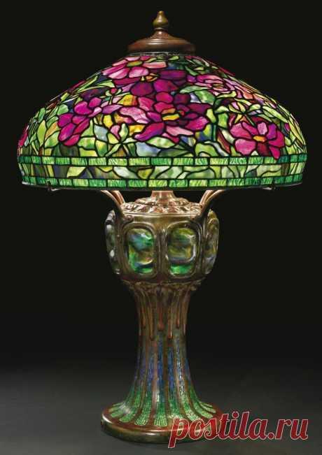 Шикарные светильники от Louis Comfort Tiffany – Ярмарка Мастеров