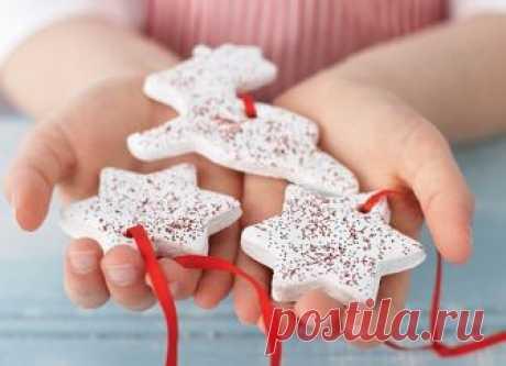 Новогодний декор дома 2019: елочные игрушки своими руками, идеи новогодних поделок - фото | GlamAdvice