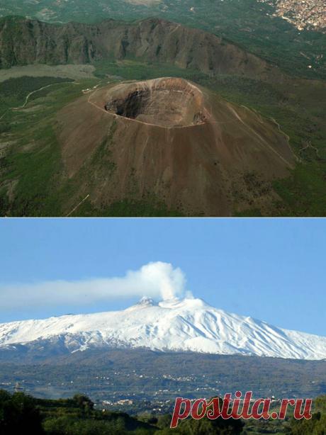 Самые знаменитые вулканы
