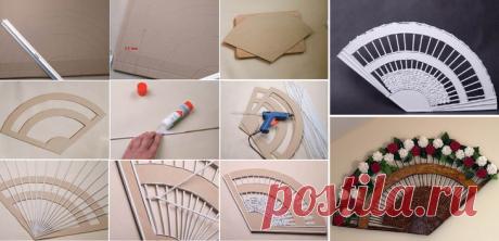 Как сделать веер своими руками: 10 оригинальных идей