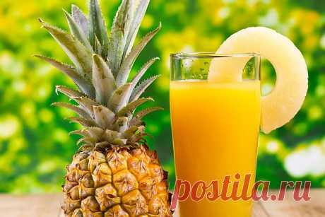 Ананасовый сок для лечения кашля