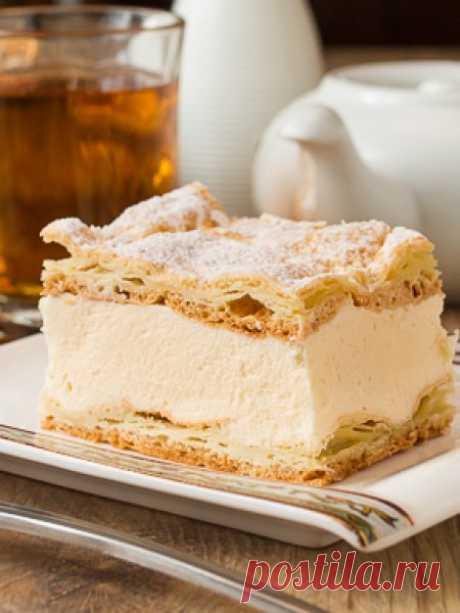 Карпатка - это удивительно простой и очень вкусный заварной пирог.