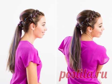 Необычные причёски для длинных волос
