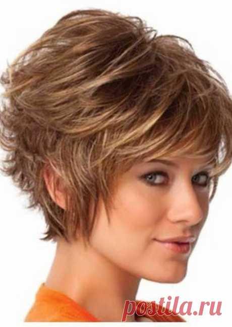 Пышная укладка на короткие волосы   Стрижки и Прически