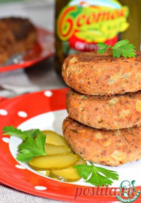 Биточки из картофеля и куриной печени - кулинарный рецепт