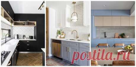 Как сочетать фартук и столешницу, чтобы кухня выглядела гармонично?   Дизайн интерьера   Яндекс Дзен