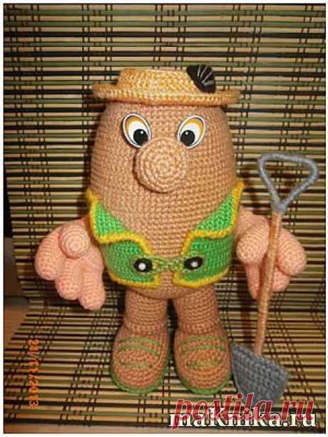 Вязаная картошка