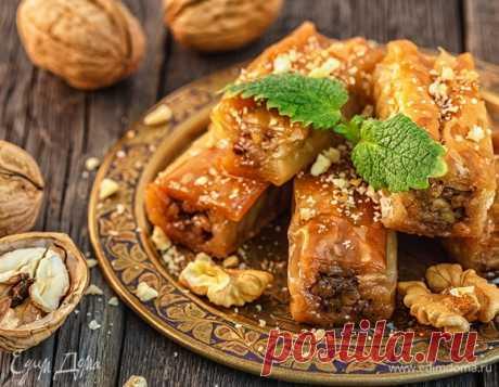 Как готовить пахлаву: традиционный рецепт восточного лакомства