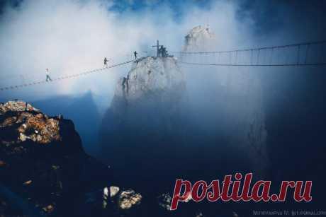 Подвесные мосты Ай-Петри / Туристический спутник