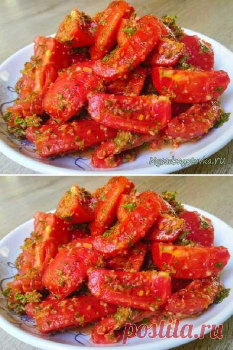 Восхитительные помидоры с необычным ингредиентом - Мой сад ❄