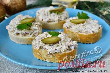 Рийет из скумбрии – вкусная намазка на тост