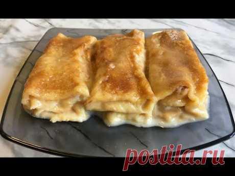 Блины с Творогом в Духовке Очень Нежные и Невероятно Вкусные!!! / Pancakes in the Oven
