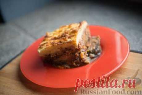 Рецепт: Мусака с запеченными баклажанами