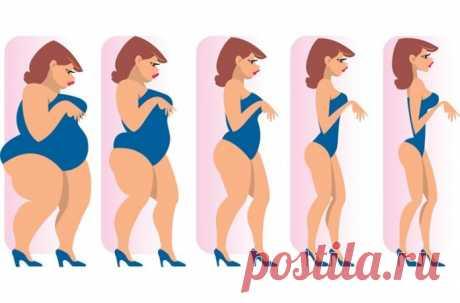 Диета Лесенка – новая супер методика похудения