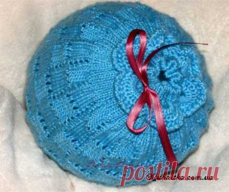 """Autumn hat for 2,5-3-year-old """"хвостика"""":)\"""" Club Thread - knitting by spokes and not only"""