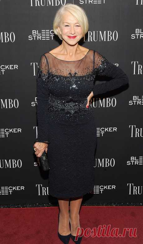 7 lessons of style from Helen Mirren. We study at the legendary actress as the beautiful woman of solid years has to look