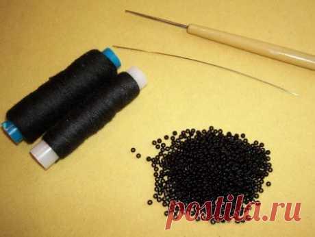 Набор бисера для вязания жгутов » Бисерные мастер-классы.