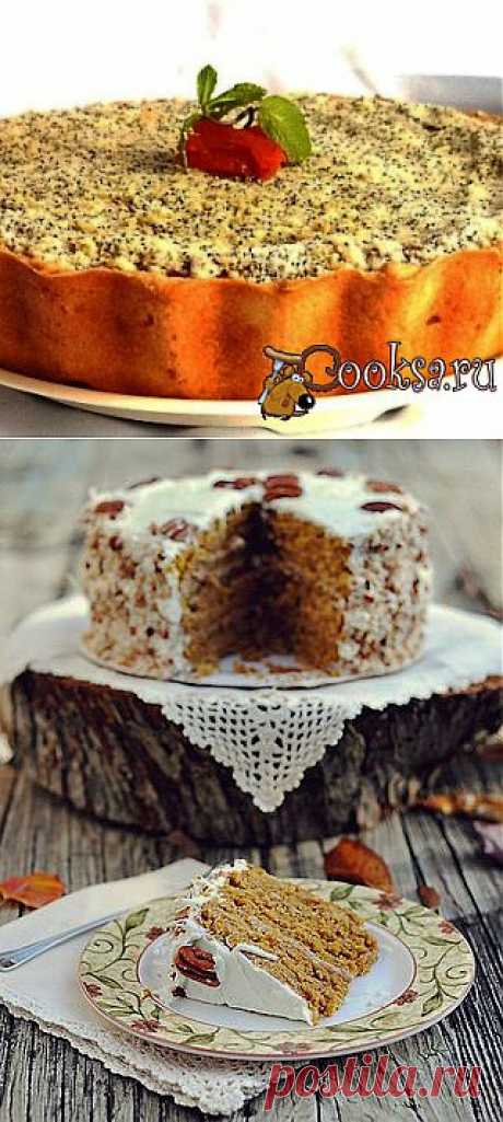 Два рецепта великолепных тыквенных тортов..