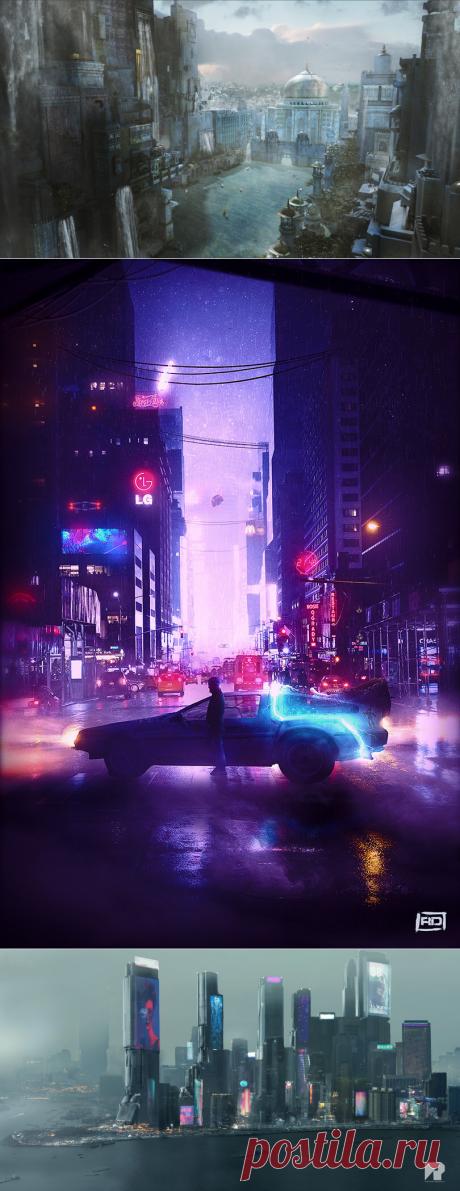 Какими станут города Земли к 2029 году - Hi-Tech Mail.ru