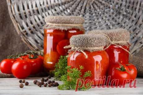 Способы заготовки помидоров на зиму.