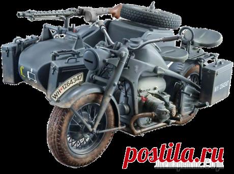 Zundapp KS750 - Легендарный Мотоцикл Вермахта