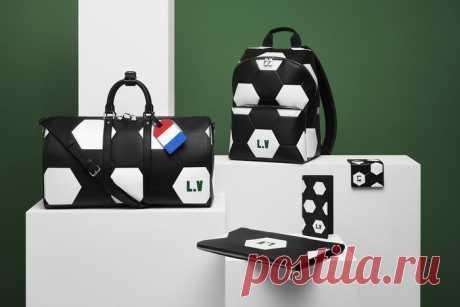 Louis Vuitton выпустил футбольную коллекцию с FIFA
