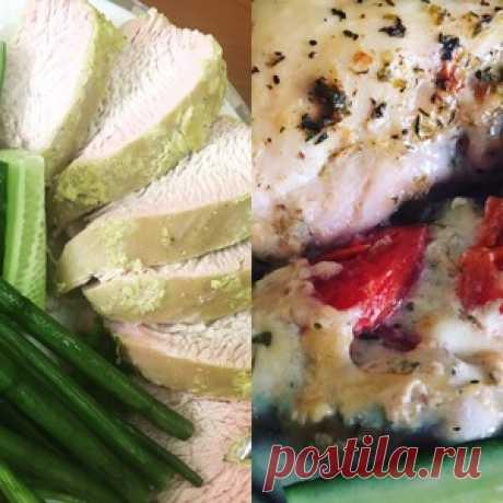 Легкий ужин из курицы или индейки - кулинарный рецепт