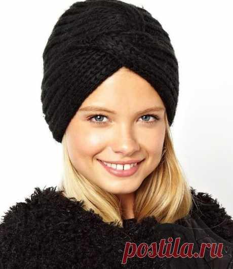 Cap turban patent pattern