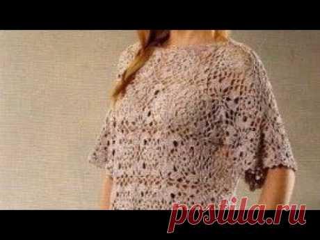 Узор крючком для топа - Crochet Top Pattern