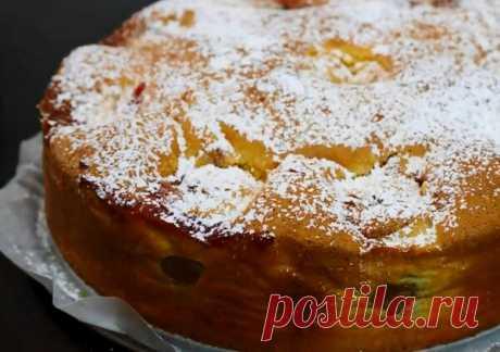 Пирог «Шарлотка» по-новому. Очень вкусный рецепт. | Cook Book | Яндекс Дзен