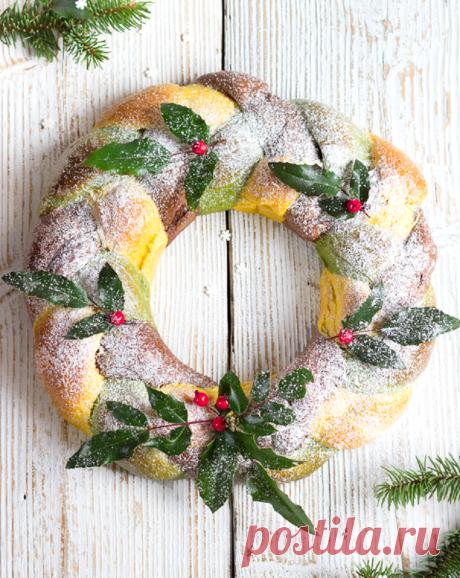 Рождественский хлеб рецепт