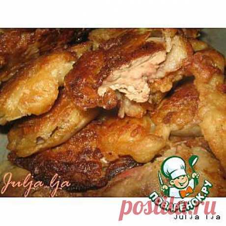 Нежнейшая куриная печень с майораном, в хрустящем пивном кляре