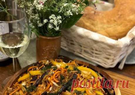 Острый салат из баклажан - пошаговый рецепт с фото. Автор рецепта Ольга (в Инстаграмм _blisssful_) . - Cookpad