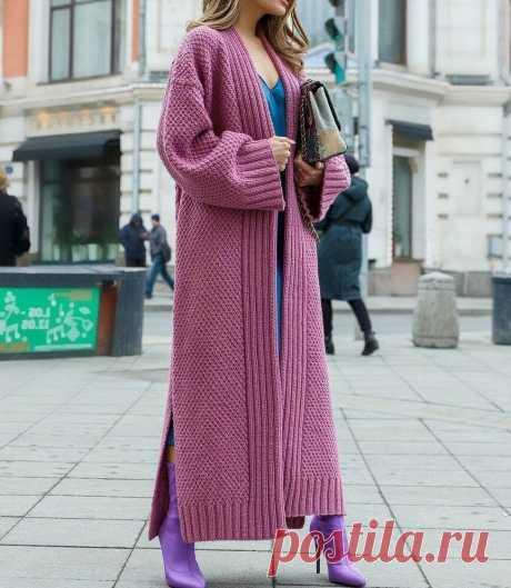 Модные, стильные, эффектные! Подборка вязаных кардиганов | Идеи рукоделия | Яндекс Дзен