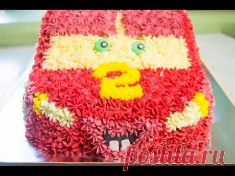 Торт машинка Часть 2