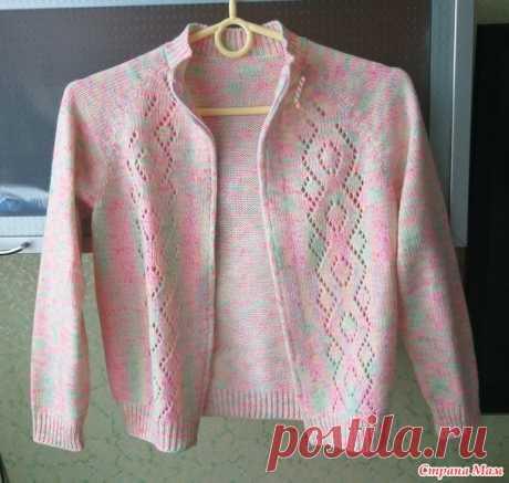 Кофточка для девочки - Вязание - Страна Мам