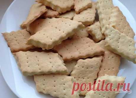 """Печенье """"Галеты"""" - пошаговый рецепт с фото на Повар.ру"""