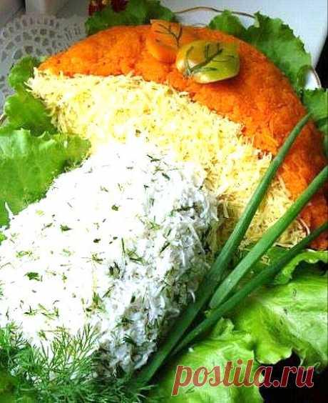 Вкусный салат на праздничный стол!.